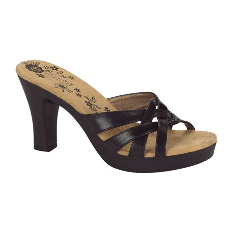 mudd sandals mudd s circuss black clothing shoes jewelry