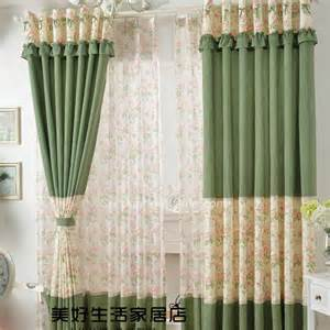 Floral Design Curtains Unique Designed Polka Dots With Lace And Floral Eco Friendly Room Separator Curtains