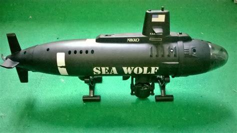 jual rc vintage kapal selam nikko submarine uss seawolf