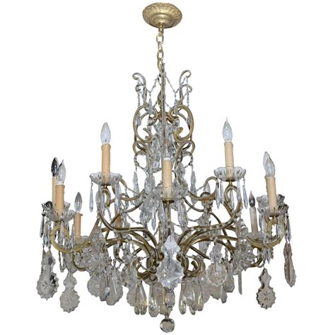 Chandelier Lighting Sale Vintage Chandelier For Sale At 1stdibs