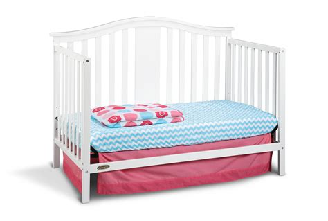 Toddler Bed With Crib Mattress Graco Solano 4 In 1 Convertible Crib And Bonus Mattress White Baby