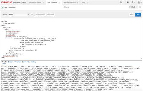 json to html dimitri gielis blog oracle application express apex