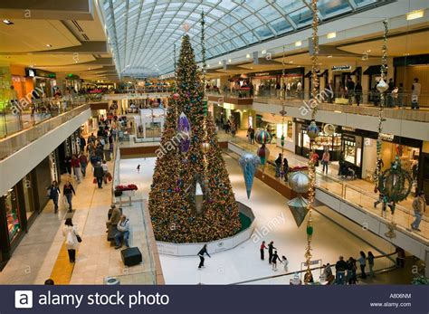 usa texas houston houston galleria mall christmas tree