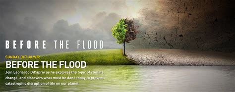 Before The ecoworldreactor quot before the flood antes que sea tarde quot