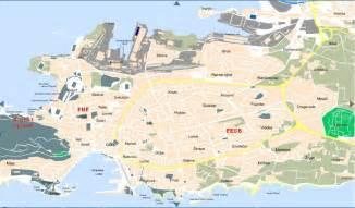 split plan split plan de la ciudad mapas imprimidos de split