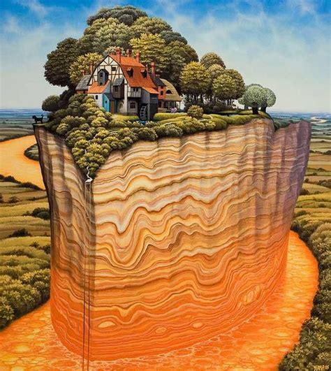 amazing surreal paintings   polish artist jacek yerka