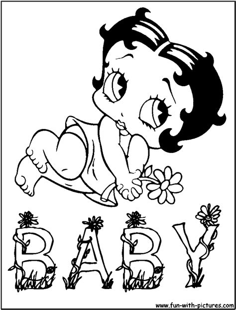 bettyboop coloring pages free printable colouring pages