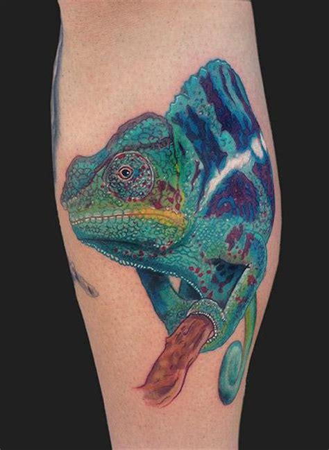 chameleon tattoo jewelry gallery panther chameleon tattoo by daniel chashoudian tattoonow