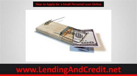 how to apply for a loan for a house how to apply for a small personal loan online using 5 tips