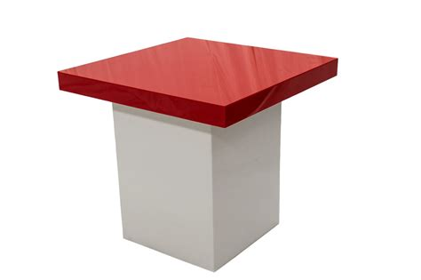 Small White Table L by Small White Table Top