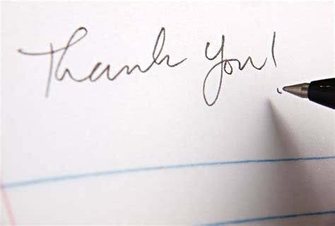 thank you for note how to write a thoughtful thank you note