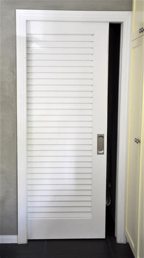 Vented Interior Door by Architect Residence In Miami Tropical Bedroom Miami By Supa Doors