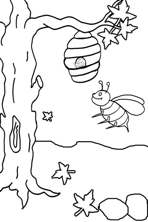 honey bunny coloring pages coloring honey coloring page bear bee pages honey
