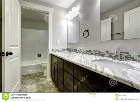 cabinet with granite top bathroom vanity cabinet with white granite top stock photo