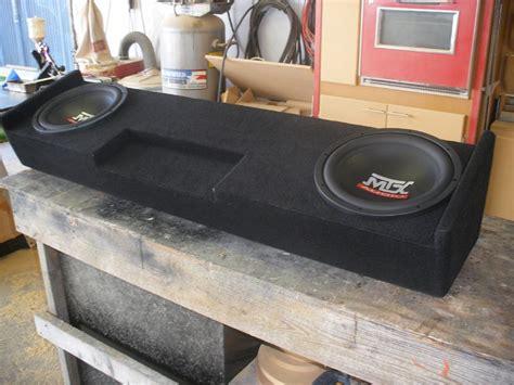 Speaker Box Gmc chevy silverado extended cab sub box gmc extended cab sub wichita falls tx 940 767