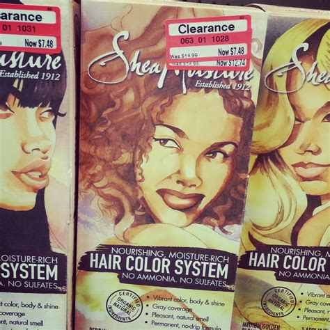shea moisture color giveaway sheamoisture hair color system sisterlocked