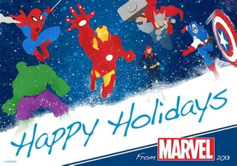 Happy Holidays Dc Nearlyweds by Marvel Dc Wars Doctor Who Send Out Greetings