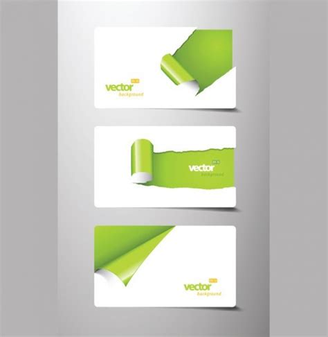 Paper Business - 3 curled paper business card templates welovesolo