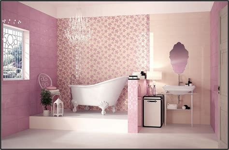 Pink Tile Bathroom Decorating Ideas by 40 Vintage Pink Bathroom Tile Ideas And Pictures