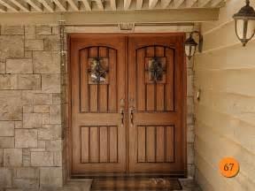 Tuscan Houses rustic entry doors fiberglass todays entry doors