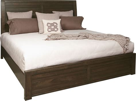 ruff hewn bedding ruff hewn brown king panel bed from samuel lawrence