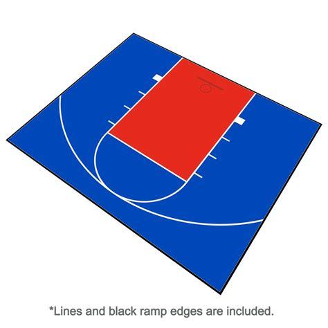backyard basketball court flooring basketball court floor kit backyard 30x25