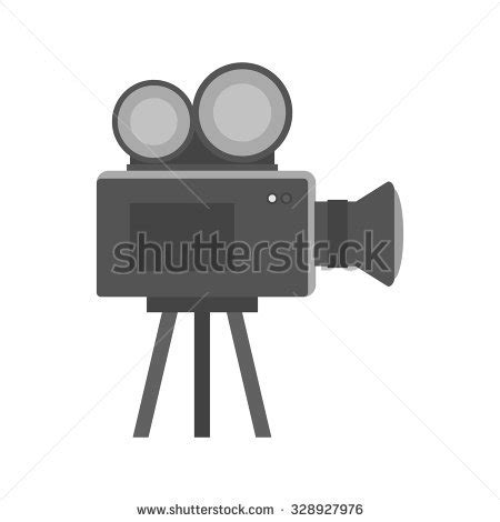 doodlebug videography doodle projector on white stock vector