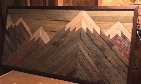gift   daughter mountains  barn wood quizgriz