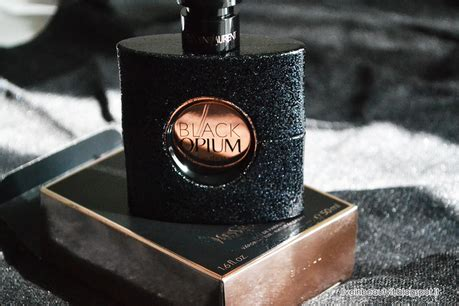 Log In To Win A Yves Laurent Black Patent Tribute Bag by Yves Laurent Black Opium Fragrance Review Paperblog