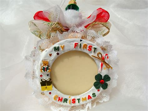 photo frame ornament 1st personalized ornament baby s