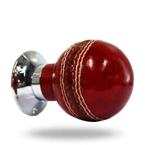 leather cricket door knob from more handles