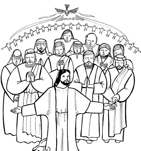 All Saints Day Coloring Pages Coloring Home Coloring Pages Of Saints