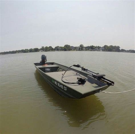 bass fishing with boat casting platform on jon boat jon boats pinterest