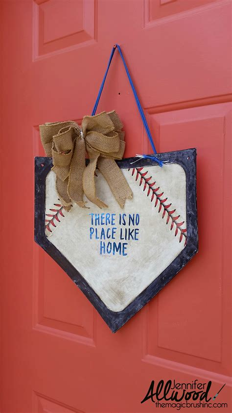 Baseball Home Decor baseball home plate decor