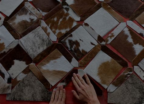 Luxury Cowhide Rugs Mosaic Hides Luxury Patchwork Cowhide Rugs