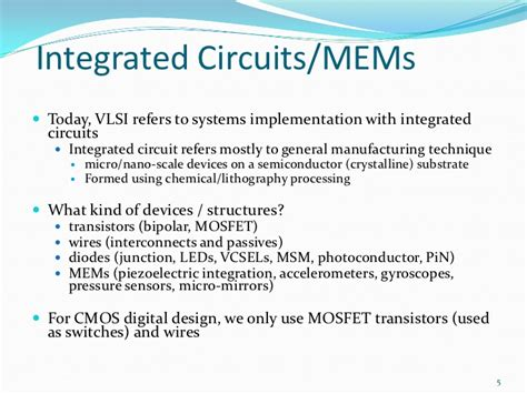 integrated circuit lithography vlsi techniques