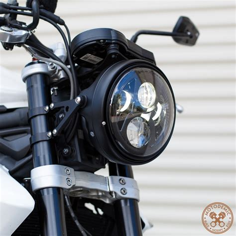 Led Motorcycle Headlight 7 inch led headlight evo 2 this looks and it s