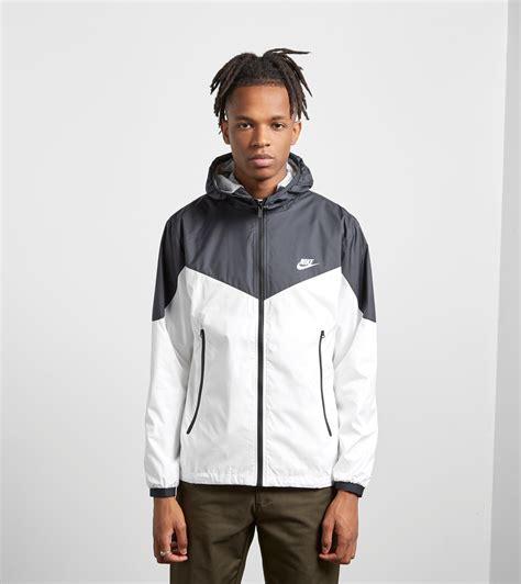 Jaket Nike Parka Taslan Black lyst nike windrunner jacket in black for