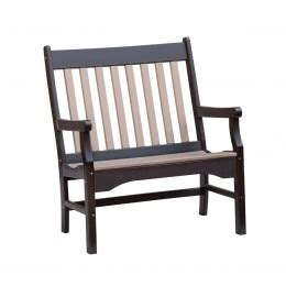 3 foot outdoor bench conestoga 4 poly garden bench amish made poly bench