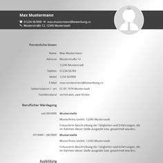 Lebenslauf Muster 2016 Word Datei by Moderne Lebenslauf Vorlage In Blau Zum Kostenlosen