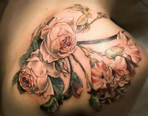 antique rose tattoo tattoos and piercings pinterest