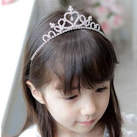 Lovely Metal Headband And Necklace princess rhinestone headband crown tiara for
