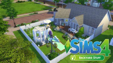 Backyard Stuff The Sims 4 Speed Build Backyard Stuff Backyard Dreams