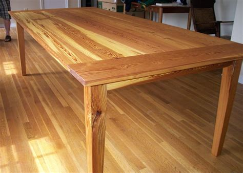 custom furniture brendan s pine dining table