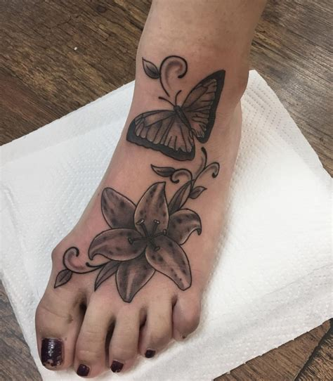 lily tattoo designs for feet 55 flower designs ideas design trends premium