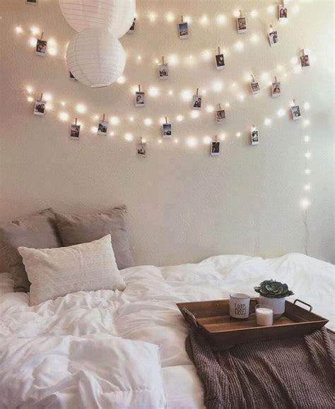 string of lights for bedroom 22 ways to decorate with string lights for the coolest