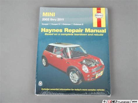 car maintenance manuals 2002 mini mini on board diagnostic system ecs news haynes repair manual mini r50 r57 02 11 67020 haynes repair manual mini r50