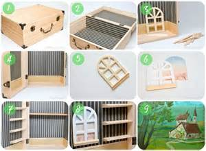 Wainscotted - make a dollhouse in a box simple portable and fun