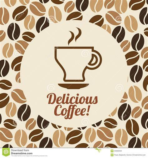 make a blue print coffee design stock photos image 34660343