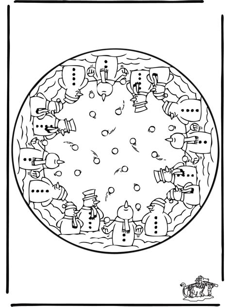 mandala coloring pages winter winter mandala 2 in and around the house